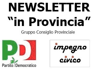 NEWSLETTER N. 1 - IN PROVINCIA