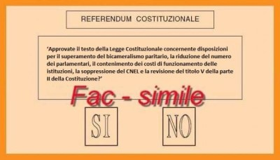 INCONTRI IN VISTA DEL REFERENDUM